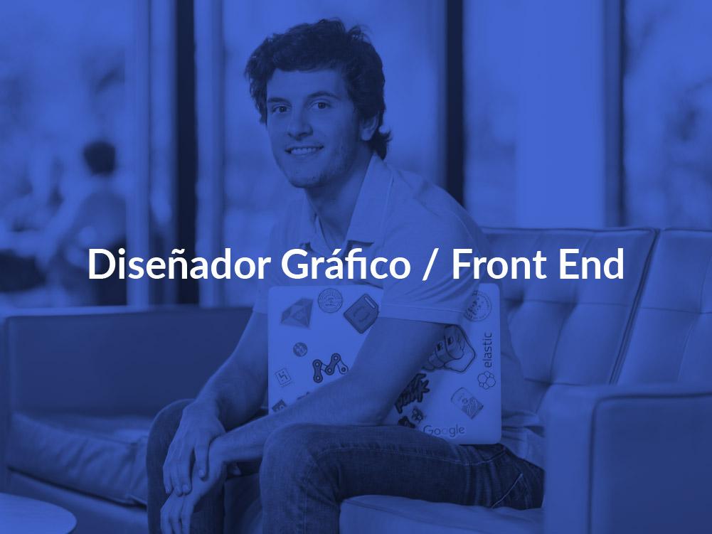 Diseñador gráfico Front end