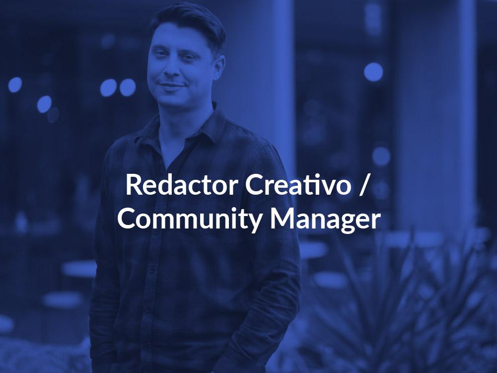 Redactor creativo Community manager