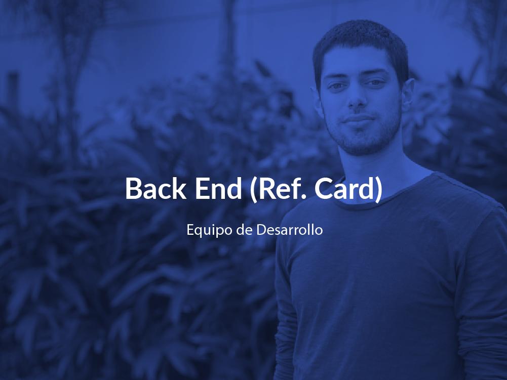 Back End Card