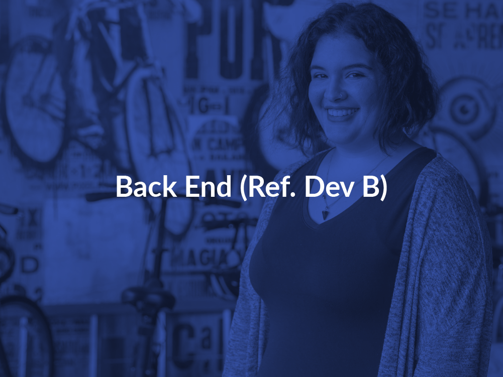 Back End Dev B