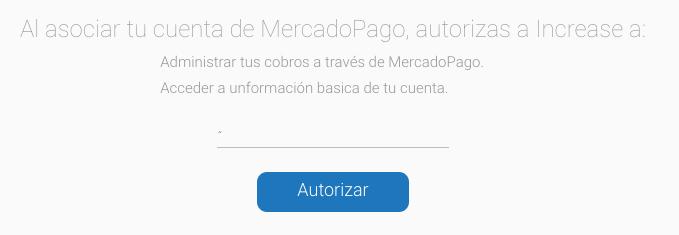 Mercado Pago Increase