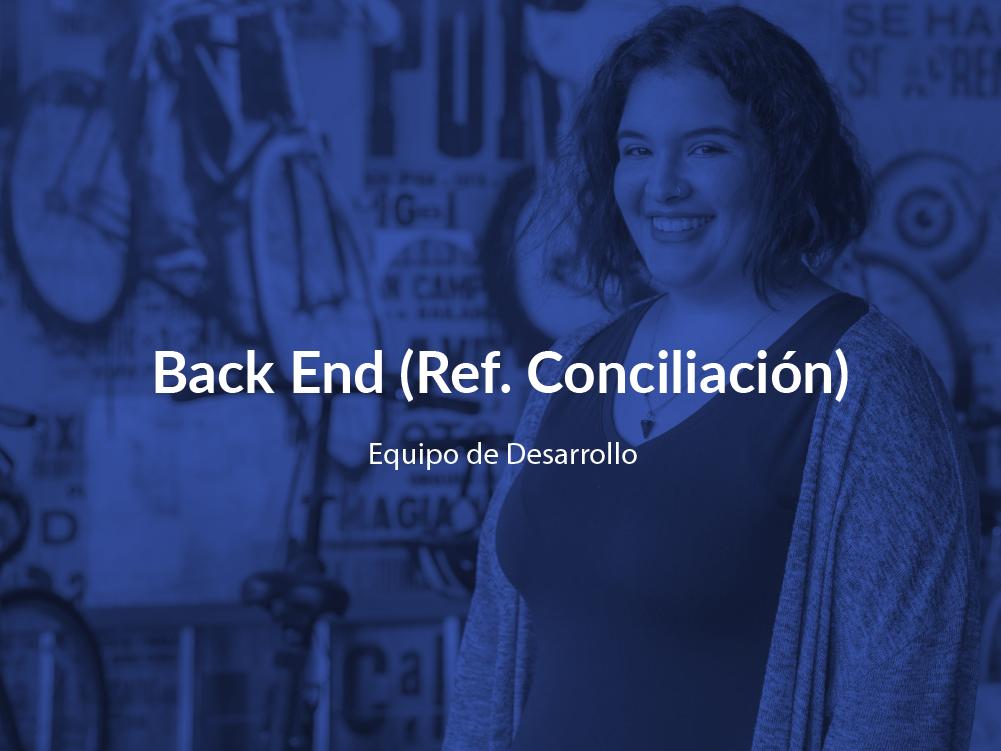 Back End Conciliación